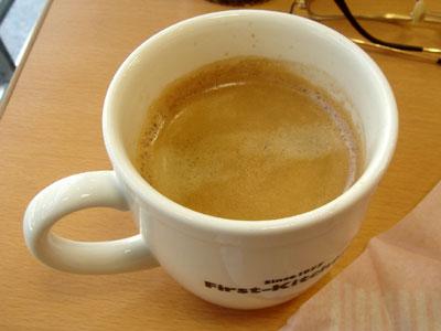 ファーストキッチン・コーヒー